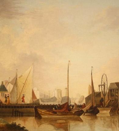 Haven van Hoorn, Isaac Ouwater